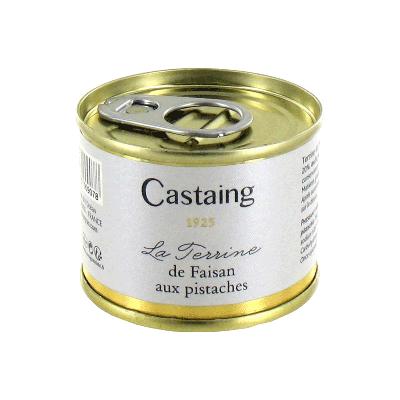 Terrina de faisán con pistachos 'Castaign' 67g
