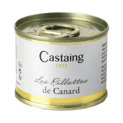 Terrina de rillettes de pato 'Castaign' 67g