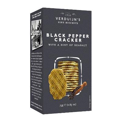 Crackers con pimienta y sal 75g