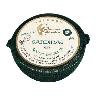 Sardinilla en aceite oliva 30/40 piezas