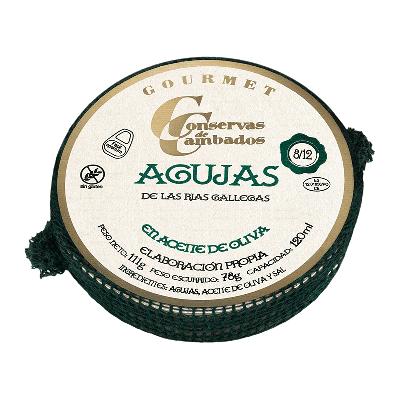 Agujas en aceite de oliva 111g