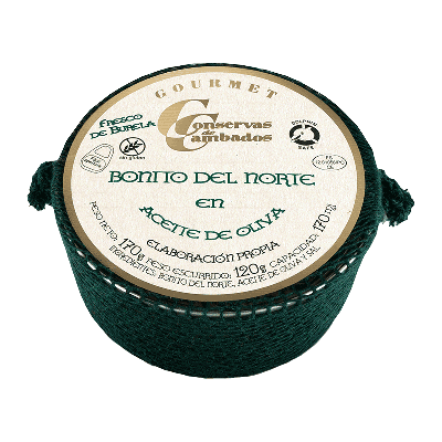 Bonito fresco Burela en aceite oliva 170g