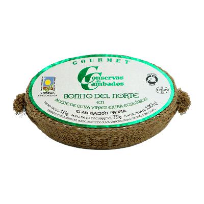 Bonito fresco Burela en aceite de oliva 120g ECO