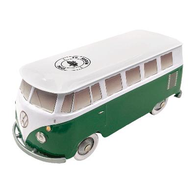 Lata personalizada de bombones praliné leche 'Furgoneta Volkswagen verde' 150g